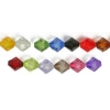 Acrylic Diamond 8X8mm Multi
